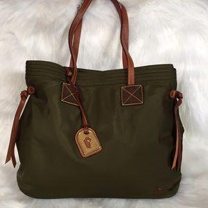Dooney and Bourke Khaki Tote Bag